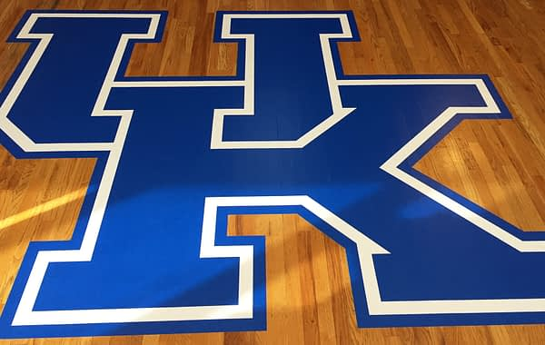 University of Kentucky floor logo
