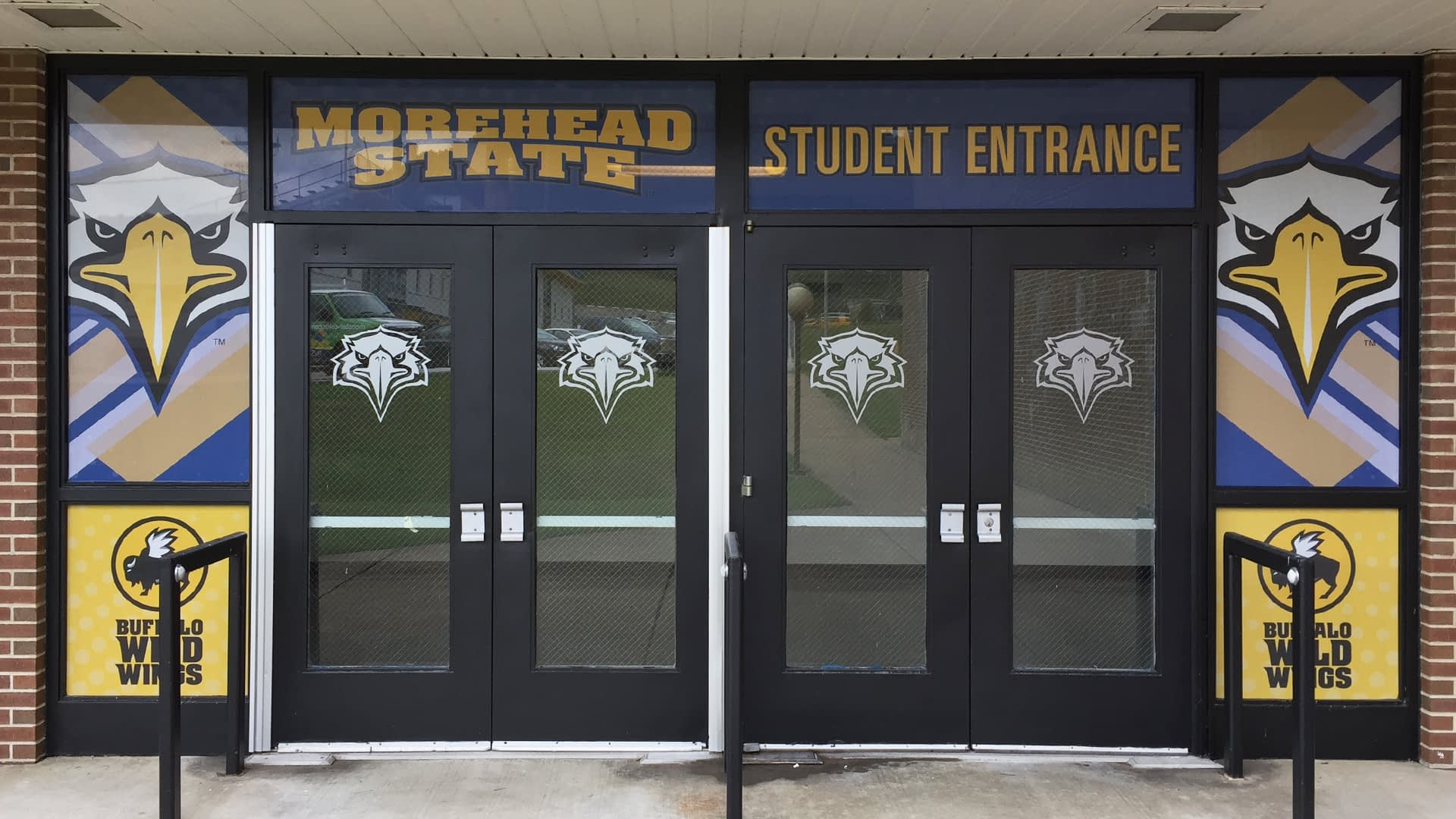 Morehead state student entrance design