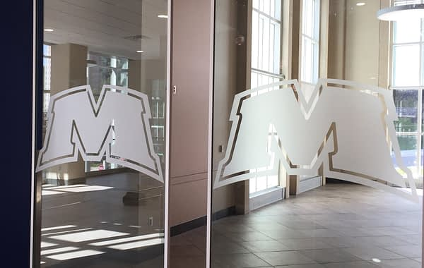 Morehead doors decal