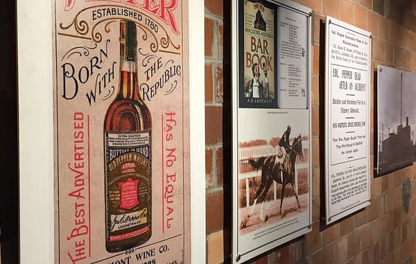 Old pepper whiskey posters